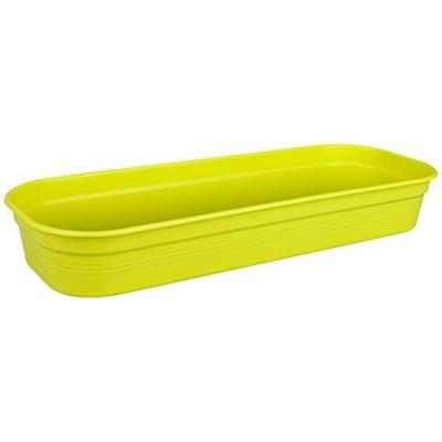 Elho 2055220 Green Basics Coquille Pour Planter Vert Lime Taille L 38 X 38 X 16 Cm