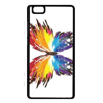 Coque huawei p8 lite papillon multicolor