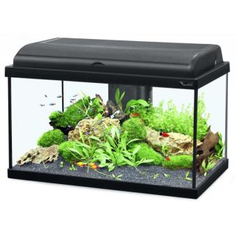 aquarium aquadream 100 blanc led 115 litres aquariums achat prix fnac