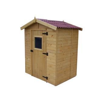 Abri de jardin en bois 2.61 m2, Foresta - Mobilier de Jardin - Achat ...
