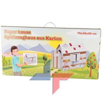 Grande Maison A Colorier Cabane De Coloriage Educatif Activite D Eveil Jeu Jouet Enfant Maisons De Jardin Achat Prix Fnac