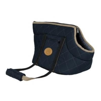 Sac Victoria, 26 × 29 × 50 Cm, Bleu Foncé/Bleu Clair - Mon Animalerie