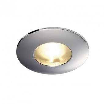 SLV Spot encastrable extérieur Out 65 IP65 12V D8 cm Chrome
