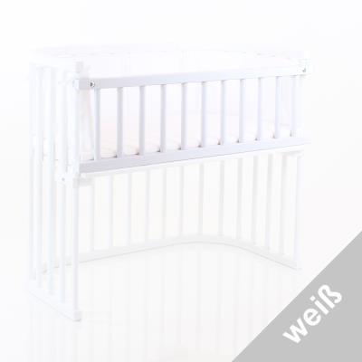 Barriere de securite blanche vernis Cododo Babybay Original Midi Mini