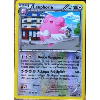 carte pokemon vigueur spectrale carte Pokémon 81/119 Leuphorie 130 PV   RARE REVERSE Vigueur