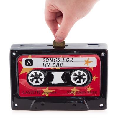 Tirelire Céramique Cassette