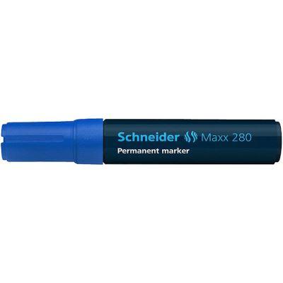Marqueur permanent Schneider 280 ciseau bleu 5pcs