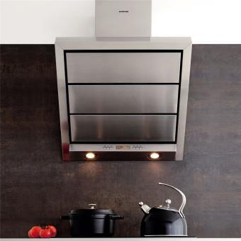 hotte cuisine murale silverline stella inox 60 cm achat prix fnac. Black Bedroom Furniture Sets. Home Design Ideas
