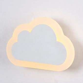 Applique murale moderne  LED sous forme de nuage pour éclairage d