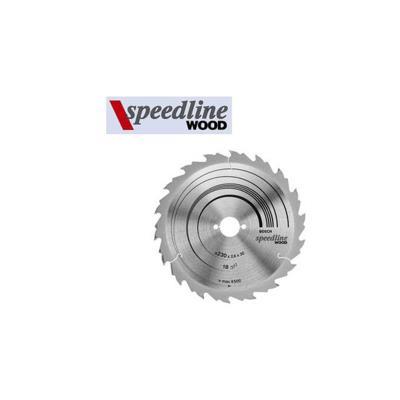 Lame de scie circulaire de table speedline wood Ø 400 al 30 mm 36 dents bosch 2608640684
