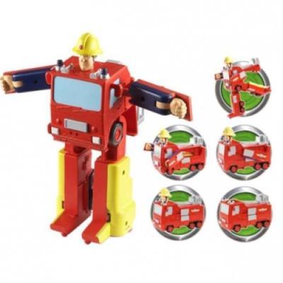 Sam Le Pompier - Camion de Pompier Jupiter Transformable - 17 cm