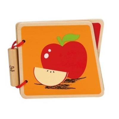 Hape - livre de bébé en bois, découverte des fruits ha-0039