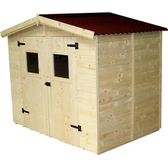 Abri de jardin en bois 5.04 m2, Foresta - Mobilier de Jardin - Achat ...