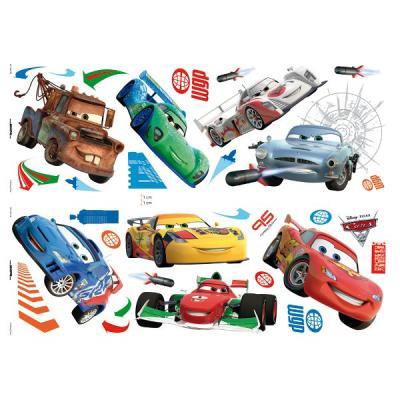 32 Stickers muraux Cars 2 Disney