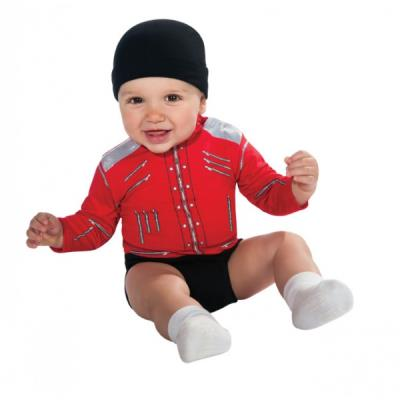 Costume Michael Jackson Beat It pour bébé - 0-6 mois