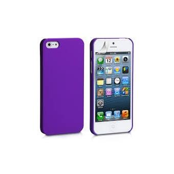 Coque Iphone 5 5S Plastique violet