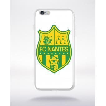 Coque transparente iphone 6 blason club fc nantes simple