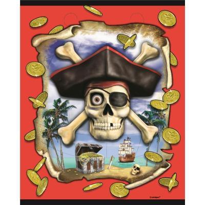 8 Pochettes à cadeaux Pirates - Décoration anniversaire
