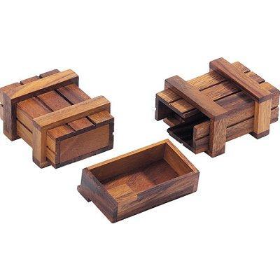 Casse-tête en bois - Boite à trésors