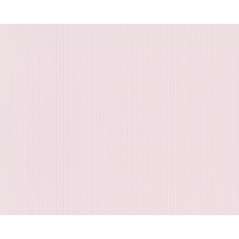 Papier Peint Pp Duplex Lignee Boys Rose Pale Lot De 12 Décoration