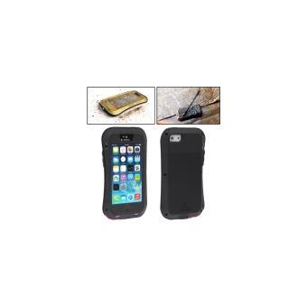 Iphone 5 5S Coque Metal Love Mei Noir Ultra Resistant