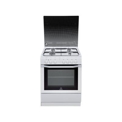Cuisinière gaz INDESIT I6G6C1AG(W) FR