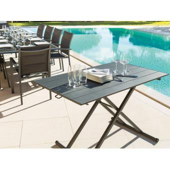 Table Basse Venezia A Hauteur Reglable Mobilier De Jardin Achat