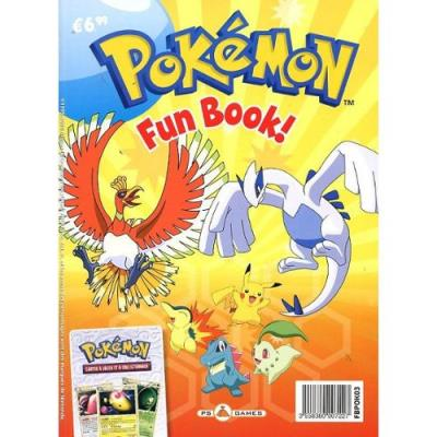 Pokemon fun book Nintendo