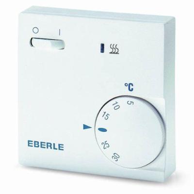 Eberle 111110451100 / RTR E 6202 Thermostat Avec interrupteur on/off et témoin LED Import Allemagne