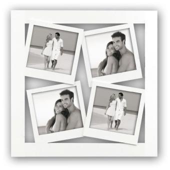 POLA Cadre photo pele-mele bois 4 vues 10/10 - Achat & prix | fnac