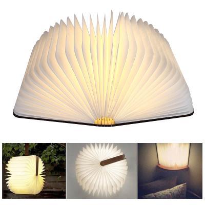 Lampe Led Origami Facon Livre
