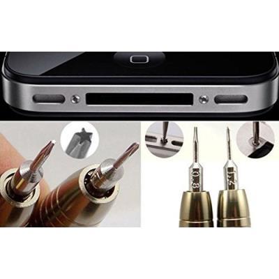 10 Mini Tournevis Précision Set de réparation de mobiles téléphones portables Montres Lunettes