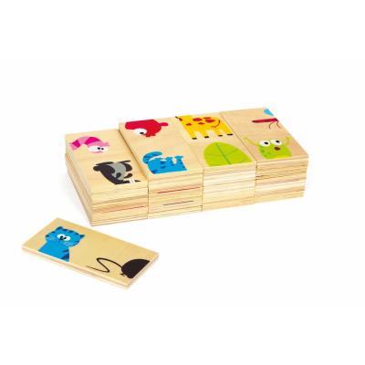 Domino des animaux en bois Ruppert