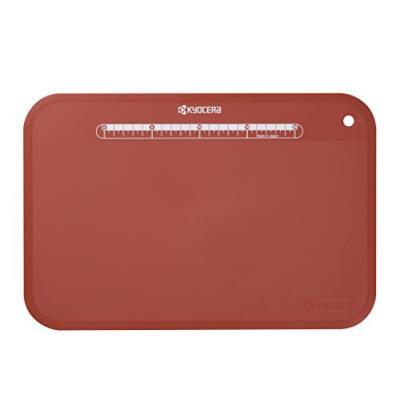 Kyocera cc-100rd exp planche à découper souple polypropylène rouge 37 x 25 x 0,2 cm