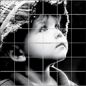Sticker carrelage mural faience d co cuisine ou salle de bain enfant r f 828 dimension du - Deco salle de bain enfant ...