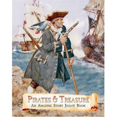 Pirates and Treasure: An Amazing Story Jigsaw Book (Jigsaw Book) - [Livre en VO]