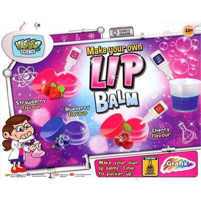 Grafix – Groovy Labz – Make Your Own Lip Balm – Kit de Création Gloss (Import UK)