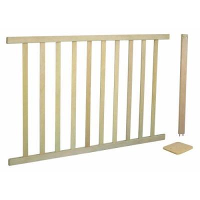 Extension de sécurité pour barrière variable Roba 100x75cm - Bois naturel
