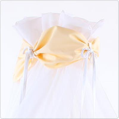 Ciel de lit jaune pour lit Berceau cododo Babybay
