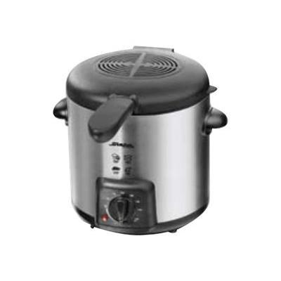 Steba DF 90 - Friteuse / fondue - 0.9 litres - 700 Watt - inox/noir
