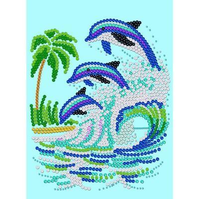 Sequin Art Kit Paillettes Art Sequin Et Perles Dauphin