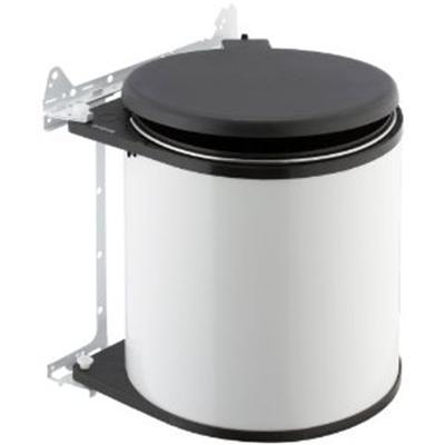 Brabantia - 262180 - Poubelle Built-In Bin - 15 L - Blanc [Cuisine]