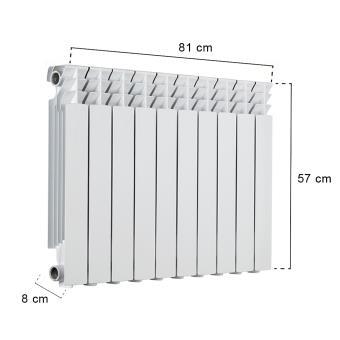radiateurs eau chaude fonte acier ou aluminium excellent. Black Bedroom Furniture Sets. Home Design Ideas