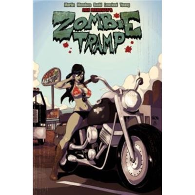 Zombie Tramp Volume 4: Sleazy Rider (Zombie Tramp Ongoing Tp) (Paperback)