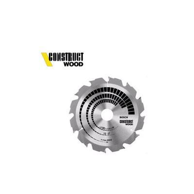 Lame de scie circulaire de table construct wood (bois sans clous) Ø 400 al 30 mm 28 dents bosch 2608640693