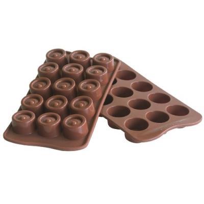 Silikomart vertigo chocolate mould easy choc 22.104.77.0065