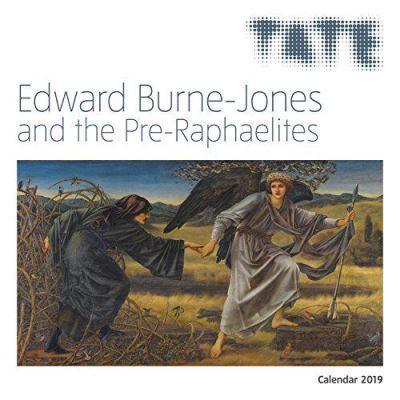 Tate - Edward Burne Jones & the Pre-Raphaelites Wall Calendar 2019 - [Version Originale]