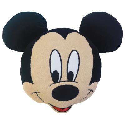 coussin tête 036x036 cm Mickey Mouse 100% polyester