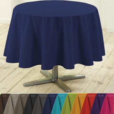 Nappe polyester antitache today ronde diam 180 cm