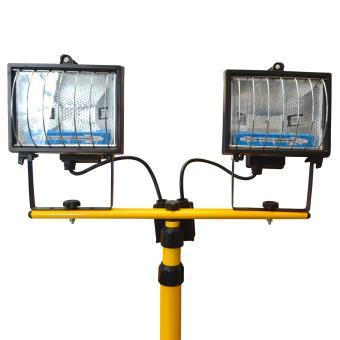 avec trépied Halogène projecteurs 2x400 w IP 44